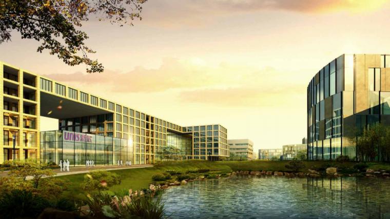 紫光科技园规划方案文本