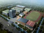 [浙江]宁波东部新城核心区高级中学建筑设计方案文本
