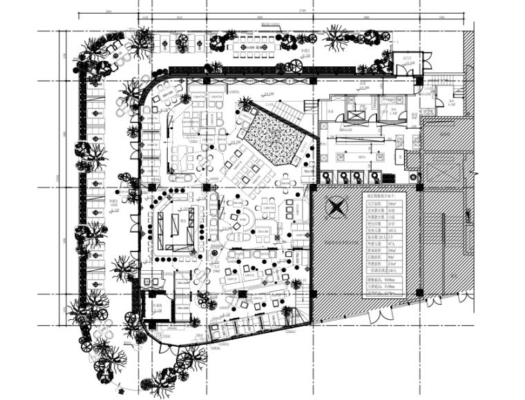 [珠海]胡桃里效果图+软装+施工图CAD+PDF+机电图