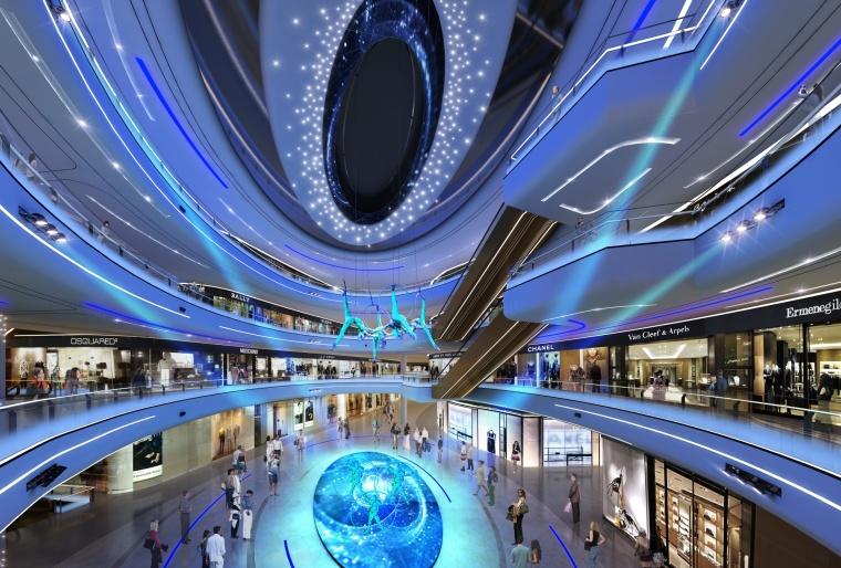 [上海]贝诺Benoy-陆家嘴浦东金融广场室内100%方案汇总134P