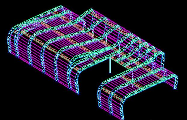 3D3S-钢管桁架结构(PPT,66页)