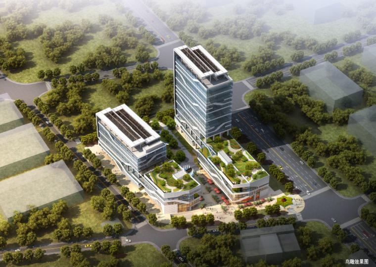 平面厂房规划规划文本资料下载-[广东]光明低碳环保产业加速器项目建筑规划设计方案文本