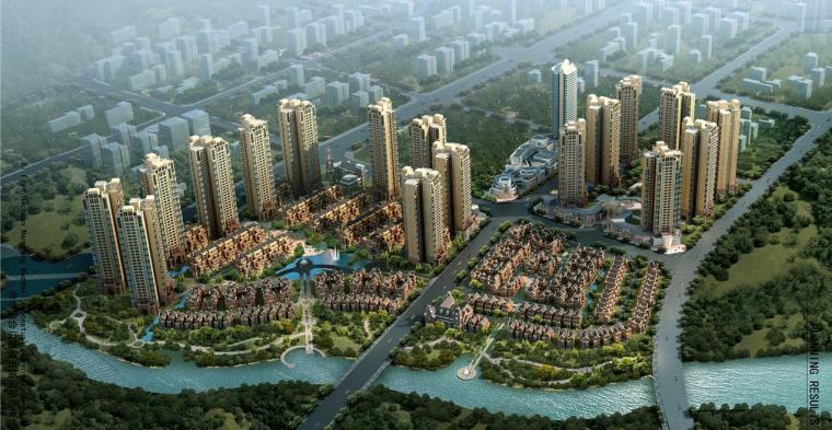 [重庆]高端现代风格住宅区建筑设计方案文本(含商业)