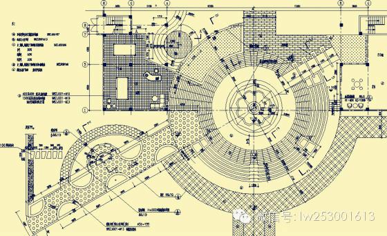 [绘制]植物施工图CAD分享教程资料下载广告设计营业执照经营范围图片