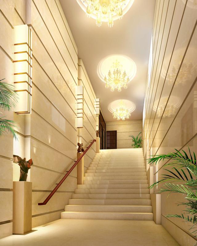 一层楼梯2效果图_副本-钢花影剧院设计方案第10张图片