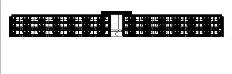 [甘肃]三层框架框架结构职工办公楼及生活宿舍建筑施工图