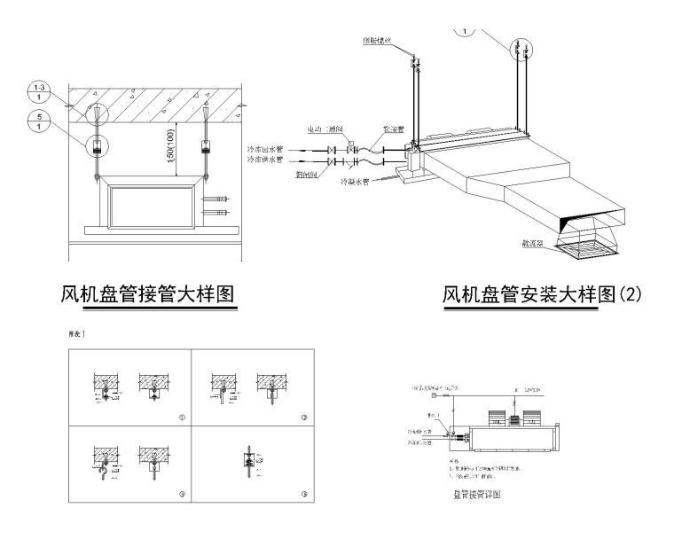 风冷模块机组设计说明,系统图及详图