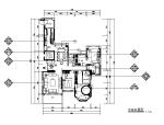 现代简约样板房设计CAD施工图(含效果图)