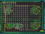 [四川]地下单层框架剪力墙结构车库结构施工图