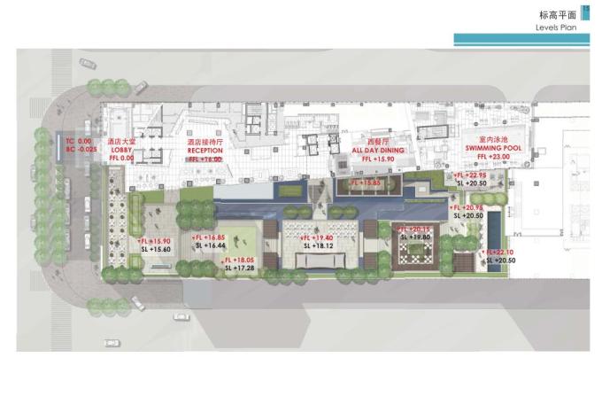 [广东]四季酒店概念性景观设计方案