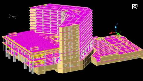 BIM技术在天津大学图书馆项目中的应用