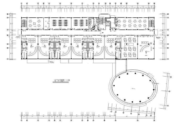 [上海]某国际幼儿园装修方案CAD图纸