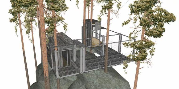 自然与建筑之间的碰撞_3