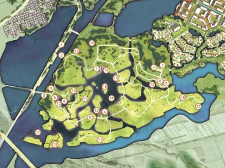 [山西]大同浑元神溪生态旅游度假小镇概念性总体规划