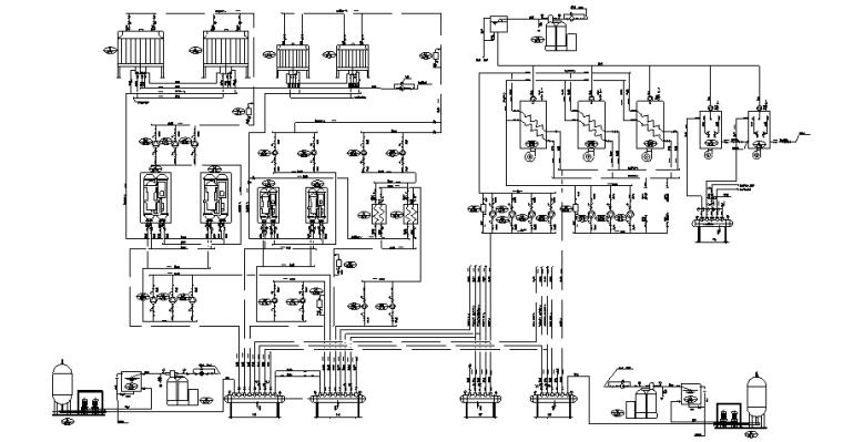 [湖北]26层五星级酒店暖通空调设计竣工图(大院出品,一类高层公共建筑)