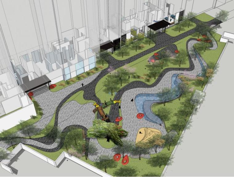 [江西]知名地产南昌青山湖名邸景观设计方案(PPT+218页)-鸟瞰图