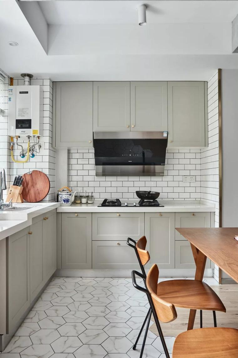 厨房比客厅还好看,让你爱上做饭!!_3