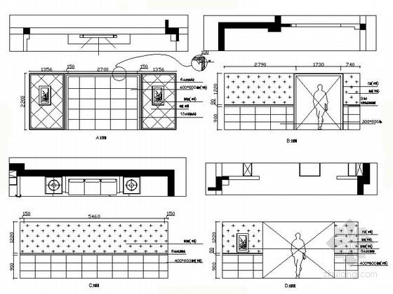 温馨简欧三层别墅设计装修里立面图