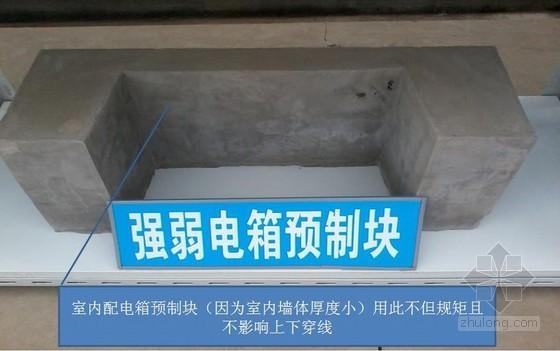 保障房项目施工质量及安全样板观摩照片