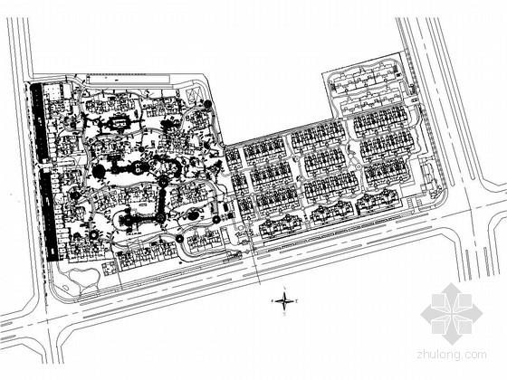 [扬州]高科技住宅体系居住区景观施工图集 (著名事务所)