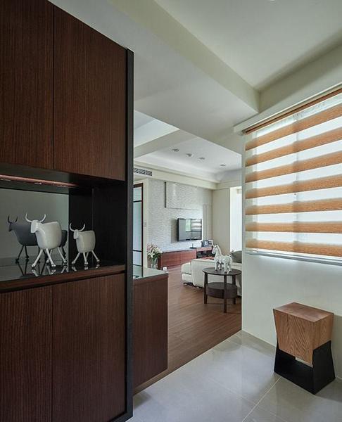 竟这么优雅,八十二平米现代简约两室两厅装修实例