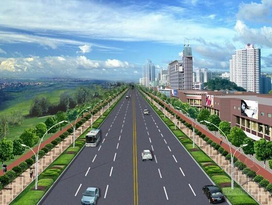 [安徽]市政道路绿化景观提升改造工程量清单计价实例(含配套图纸)