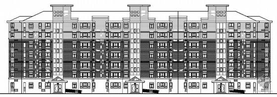 [河南郑州]某七层住宅楼(老年公寓)建筑结构水电施工图