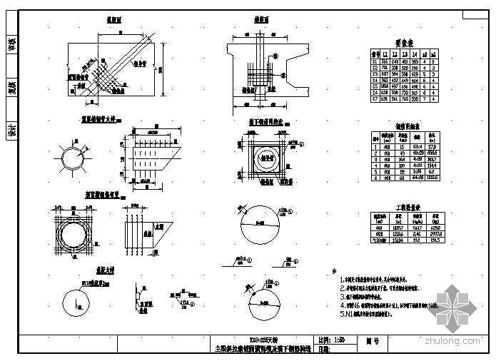 (20+32+32+20)m预应力钢筋混凝土斜拉桥-连续梁组合体系施工图设计
