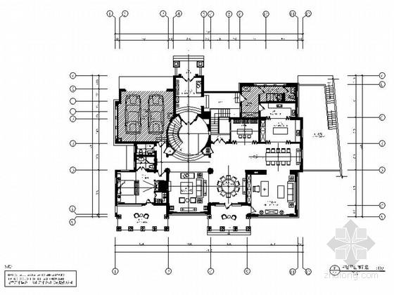 [广东]精品东南亚风格两层别墅室内装修施工图(含概念设计方案和软装方案 力荐!)