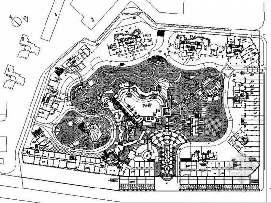 某地综合文化游乐公园景观设计施工图