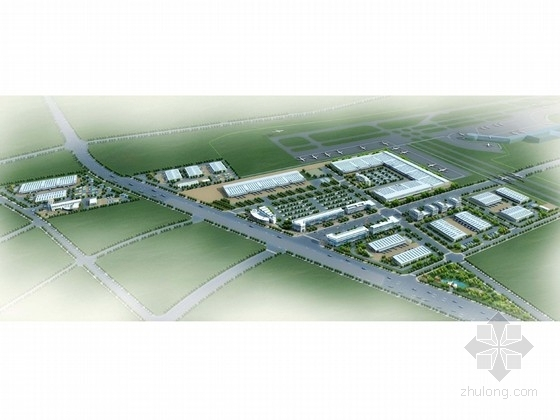[浙江]集约型空港物流园区概念性详细规划设计方案文本(知名设计院)