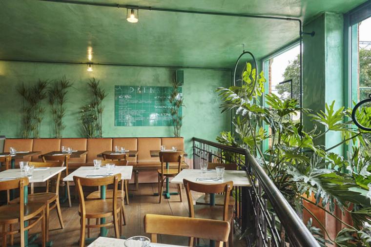 城市中的热带雨林阿姆斯特街角餐厅_13