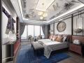 新中式风格住宅卧室设计3D模型(附效果图)