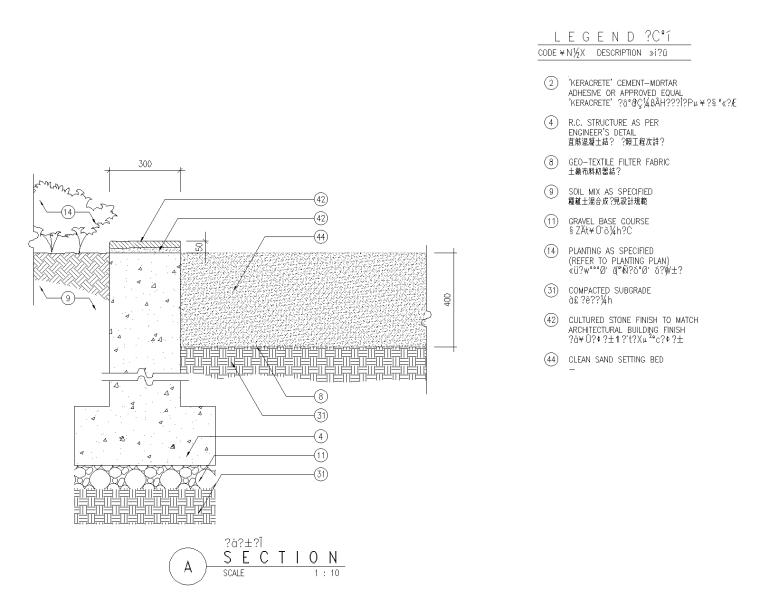 精选路缘侧石设计施工图(25套)-侧石009