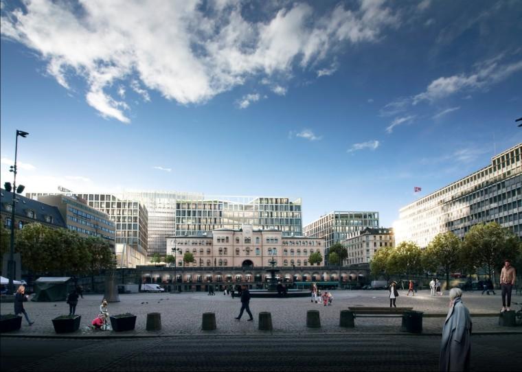 挪威政府总部大楼-7