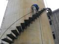 烟囱安装旋转梯平台方案