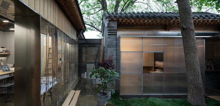 北京胡同中的工作室改造-14