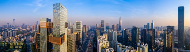 深圳连接高效的腾讯新总部外部实景图 (2)