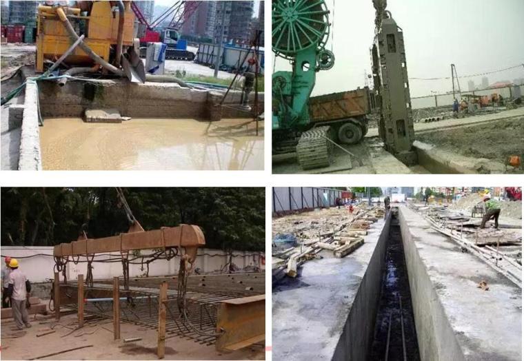 地铁与轻轨工程第六章土建施工培训讲义PPT(119页)
