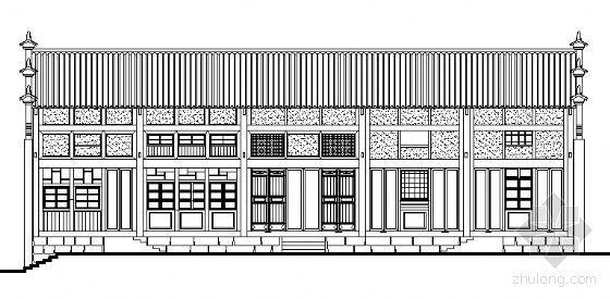 某古镇建筑测绘图