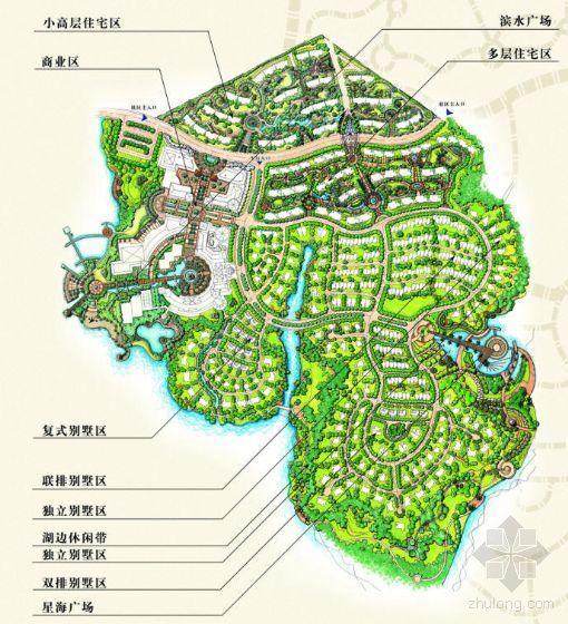 [湖北武汉]大型别墅区景观设计方案