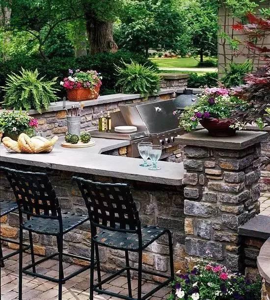 你的庄园里有这样的石元素创意景观吗?_5