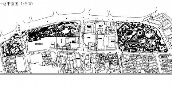 [上海]古城公园环境景观规划设计方案