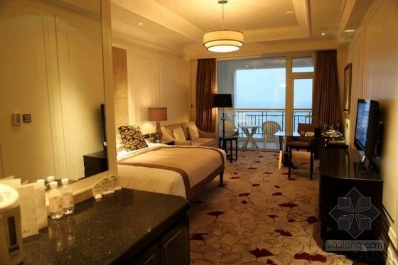 花园大酒店总统套房室内设计方案卧室效果图