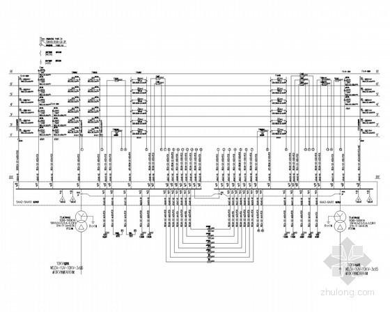 六层小型商务办公楼电气施工图纸(含计算书、变配电系统)