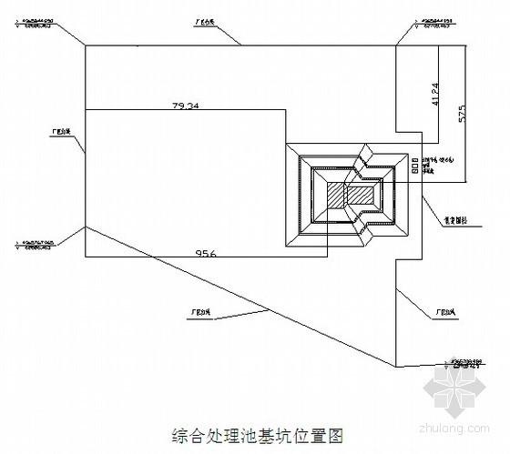 [辽宁]污水处理厂深基坑开挖支护施工方案