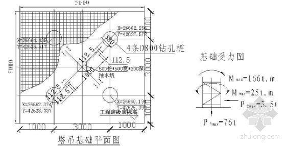 广州某大型商住楼QTZ63自升塔式起重机施工方案-4