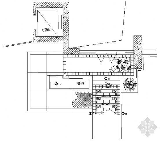 楼入口铺装做法详图8
