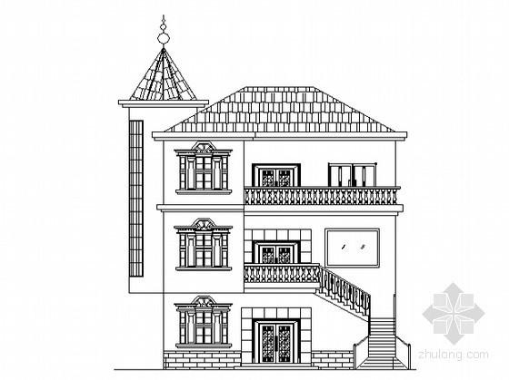 某三层农村别墅设计方案