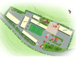 [四川]渠文化中心小学景观规划方案设计
